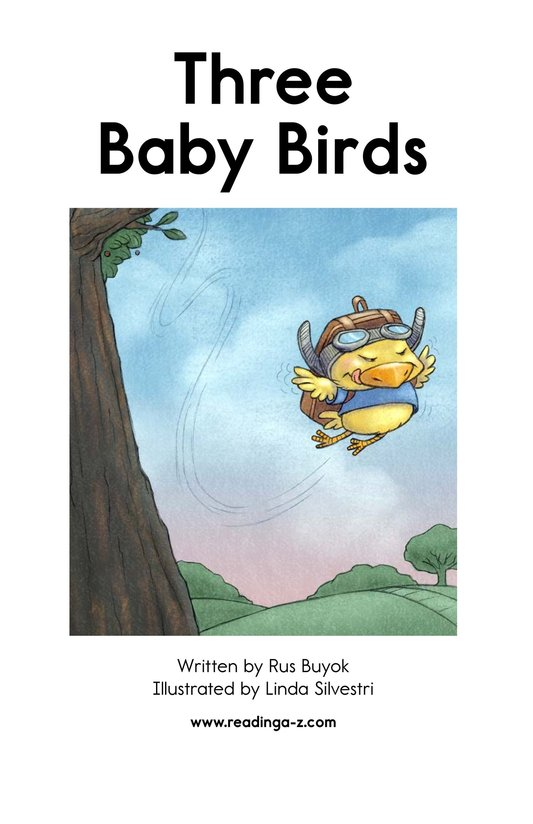 Book Preview For Three Baby Birds Page 2