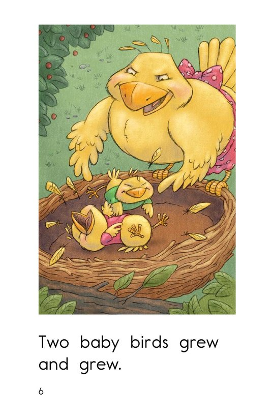 Book Preview For Three Baby Birds Page 6