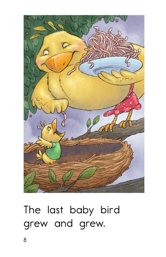 Book Preview For Three Baby Birds Page 8