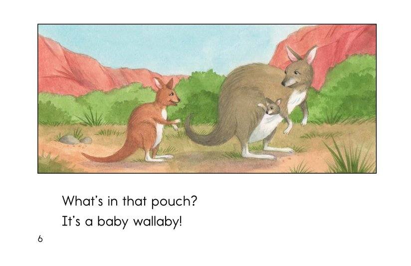 Book Preview For What's In That Pouch? Page 6