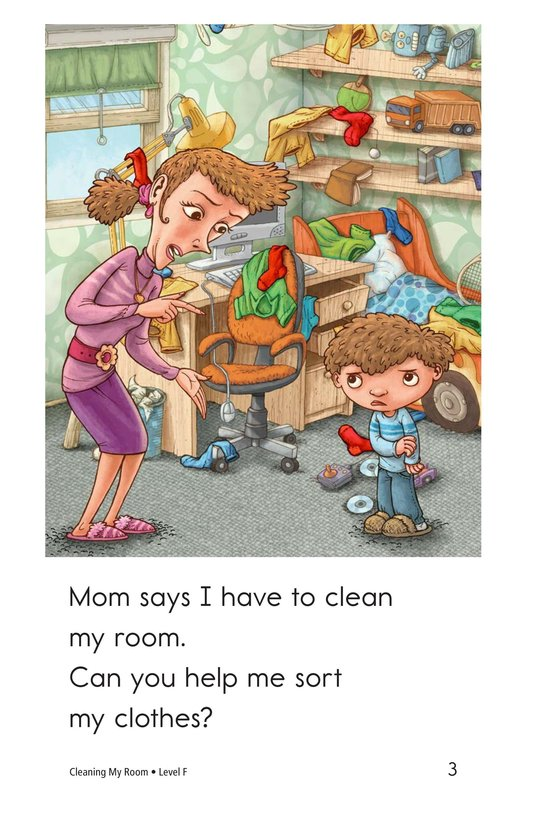 Book Preview For Cleaning My Room Page 3