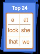 Top 24 words