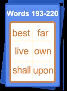 Words 193 - 220