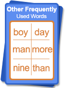Other frequently used words